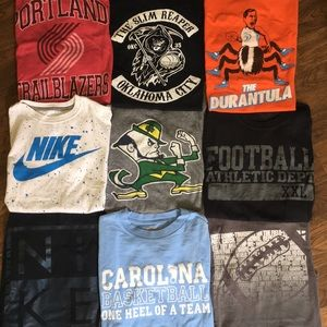 Lot of t-shirts, Nike & more